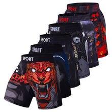 Мужские шорты для тренировок mma Бокс кикбоксинг в стиле муай