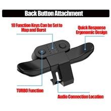 Удлиненный геймпад задняя Кнопка крепления джойстик задняя кнопка с адаптером турбо-клавиши для игрового контроллера PS4 аксессуары
