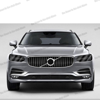 lsrtw2017 black transparent TPU car headlight protective film anti-scratch sticker For volvo xc60 s60 v90 s90 xc90 S60 xc40 v60 lsrtw2017 tpu transparent car interior film central control dashboard sticker for volvo s90 2017 2018 2019 2020 anti scratch