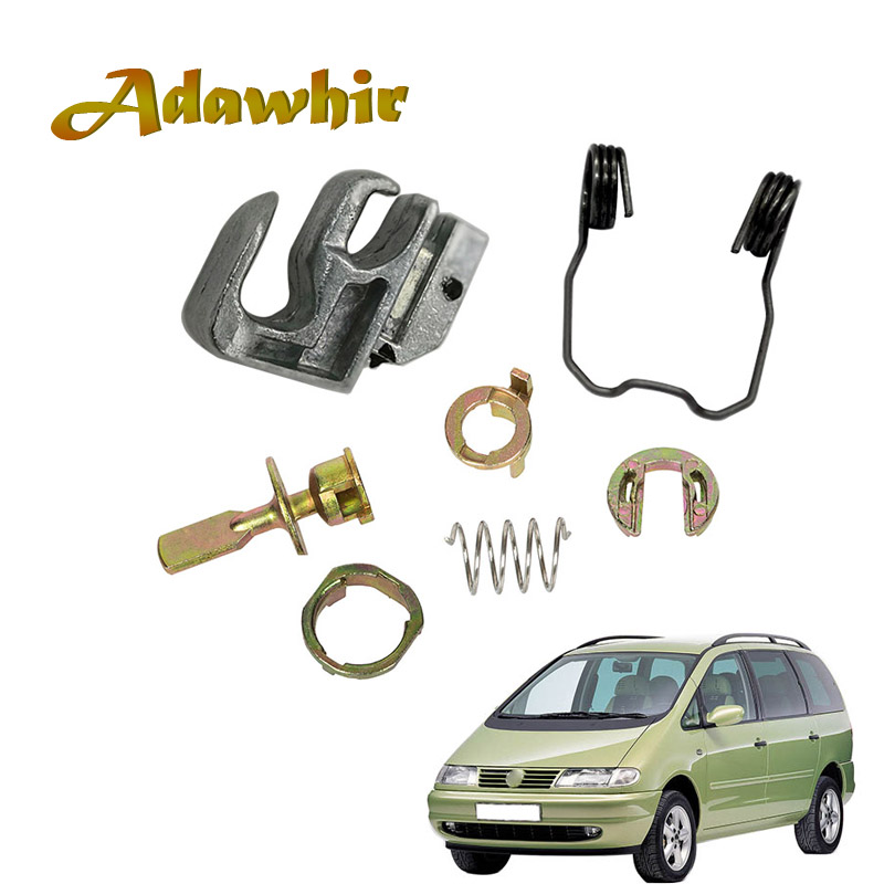 Door <font><b>Lock</b></font> Cylinder Repair Kit For VW <font><b>SHARAN</b></font> SEAT ALHAMBRA FORD GALAXY FRONT LEFT RIGHT 6K0837223A 6K0837205 6K0837206 image