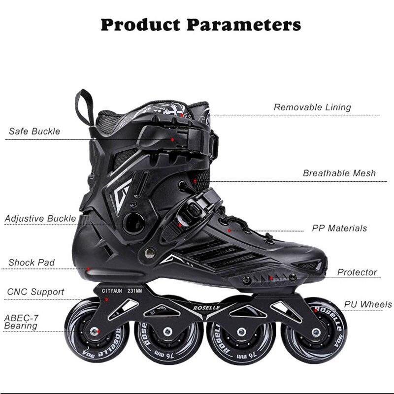 100% Originele Powerslide Skate Frame 3*110mm 255mm Met 110mm Powerslide Schaatsen Wielen Voor 165mm Afstand Patines Base - 4