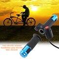Из алюминиевого сплава светодиодный дисплей твист аксессуары ускоритель электрический велосипед использовать для ручка мотоцикла контро...