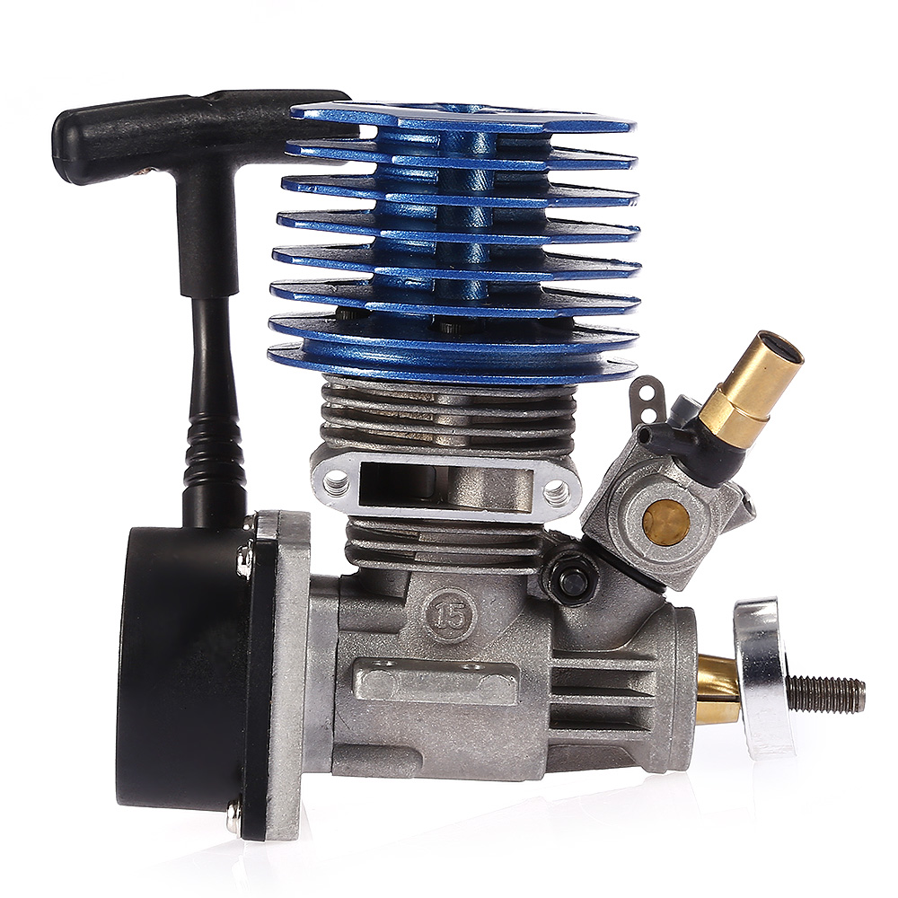 15 Side Exhaust RC Nitro Gas Engine 2.49CC for HSP HPI RedCat Racing 1/12 1/10 Buggy Truggy Truck Drift Car