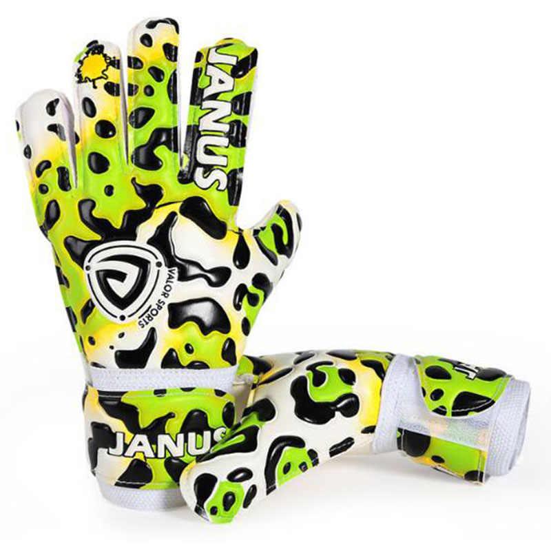 新スタイルキッズフィンガー保護サッカー手袋プロ子供サッカーサッカーゴールキーパー