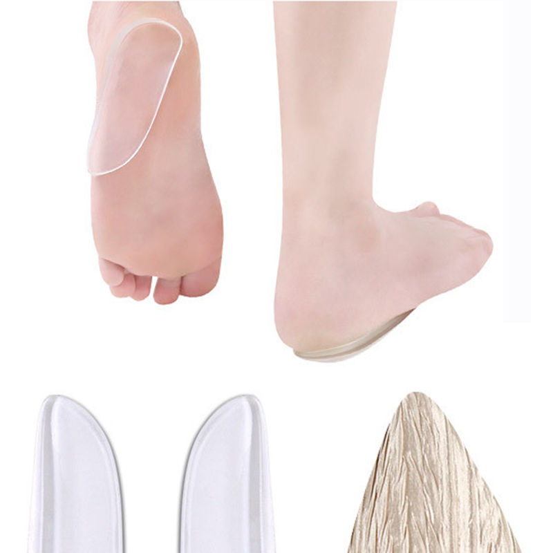Men Women Orthopedic Insoles Heel Pads Foot Corrective Insoles Shoes Inserts
