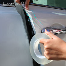 Protector de parachoques para puerta de coche, protección anticolisión para VW Tiguan MK2 2017 2018 2016 2015