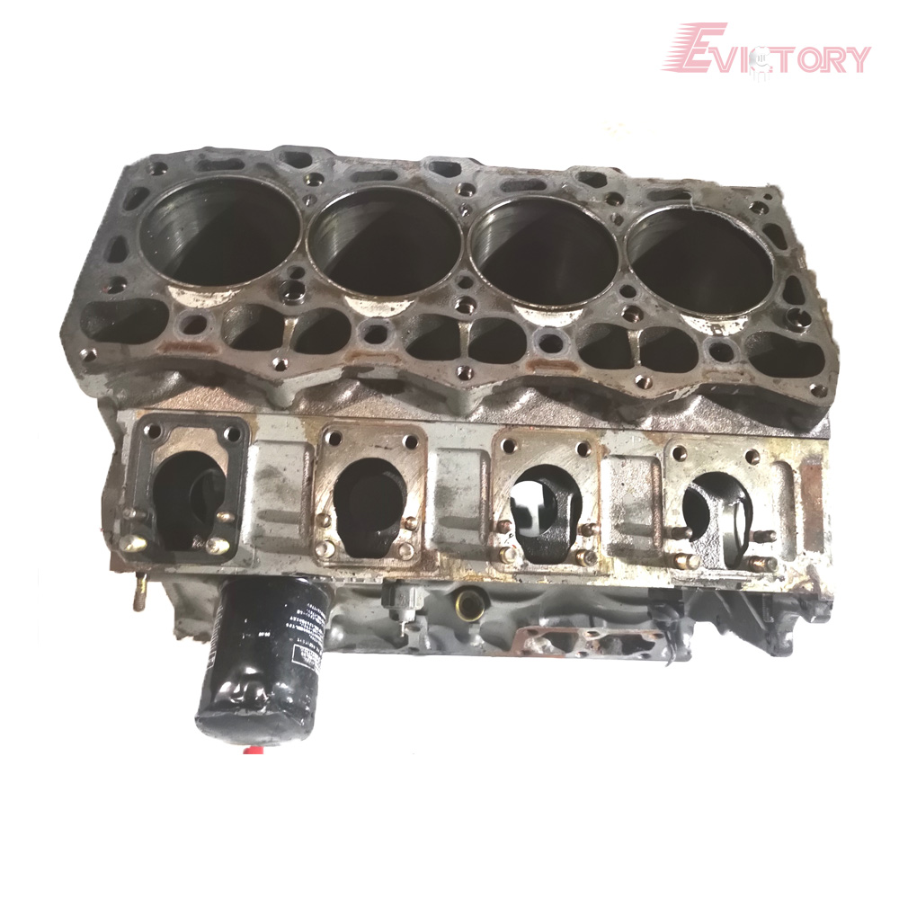 For Isuzu 4LC1 engine cylinder block short block