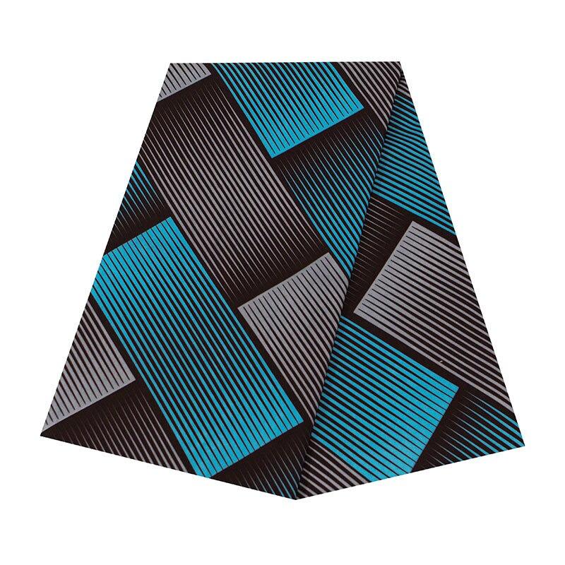 Geometric Patterns Prints African Ankara Wax Fabric Wholesale 6 Yards High Quality Ankara African Wax Print Fabric For Patchwork