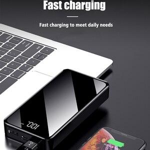 Image 4 - חם כוח בנק 30000mAh Powerbank מטען LED הכפול Usb יציאות חיצוני סוללה Poverbank נייד עבור iPhone 7 8 x שיאו mi mi