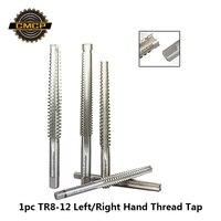 משלוח חינם טרפז מטרי יד כלים ימין/יד שמאל למות ברז 1pc TR8 10 12 מכונה חוט ברז
