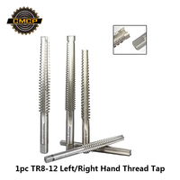 Freies Verschiffen Trapez Metrische Gewinde Tap Hand Werkzeuge Rechts/Links Hand Sterben tap 1pc TR8 10 12 Maschine gewinde Tap