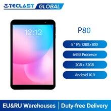 Teclast P80 8 ''IPS 1280x800 планшетный ПК с системой андроида и 10. 0 OS Allwinner A133 Процессор GE8300 графический процессор 2 Гб Оперативная память 32GB Встроенная ...