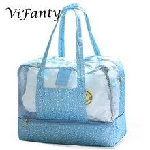 Plaj çantası oyuncak Tote çanta, file plaj çantası, büyük hafif bakkal, pazar ve piknik Tote büyük boy cep