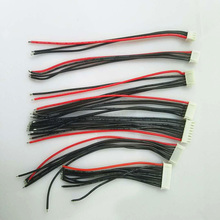 цена на 5pcs/lot 2S 3S 4S 5S 6S 7S 8S Lipo Battery Balance Charger Cable IMAX B6 Connector Plug Wire