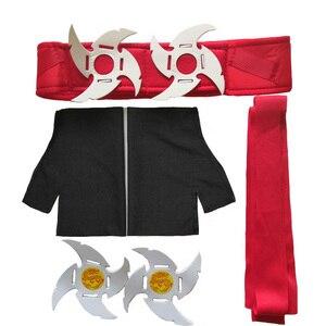 Image 5 - halloween costume for kids Cosplay Ninja Costume Muscle Warrior Ninja Kid Japanese Ninja Costume Weiwu Black Warrior