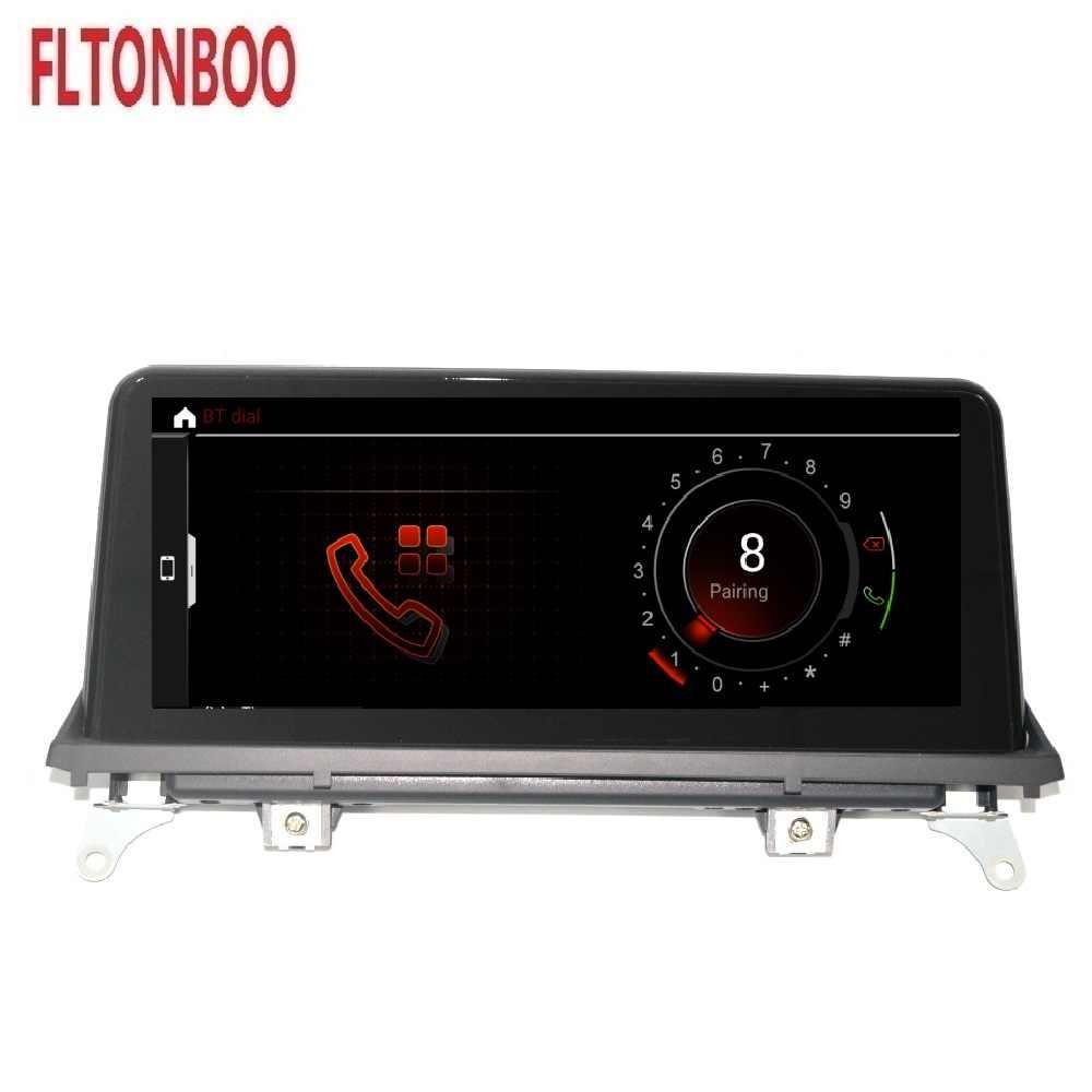 10.25 بوصة أندرويد 9.0 سيارة راديو GPS بليير الملاحة ID7 لسيارات BMW X5 X6 E70 8 core 4GB RAM 64GB ROM دعم واي فاي بلوتوث