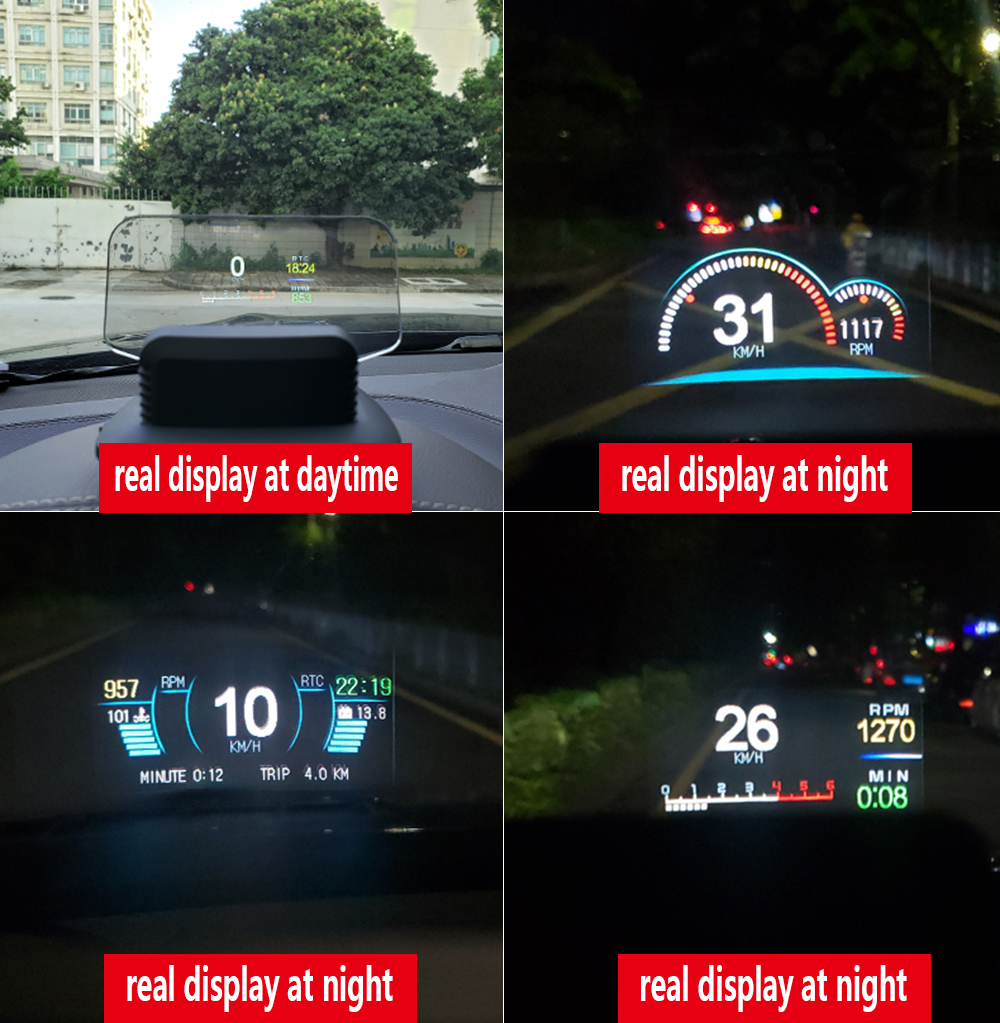 C1 HUD Mirror Car Head Up Display (7)