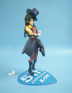 Image 3 - 20cm Anime Action Figure K ON 5th Anniversary Akiyama Mio Bassist Bass Guitar Ver 1/8 Scale PVC Model Collection Toys Doll New