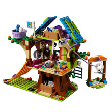 Legoinglys Building blocks Mia's Tree House 10854 356pcs Compatible Friends 41335 girl Bricks Princess figures toys for children(China)