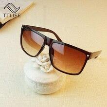 TTLIFE 2019 Vintage Sunglasses Unisex Rivet Women And Men Polarized Sun glasses Luxury Brand UV  Sunglass women