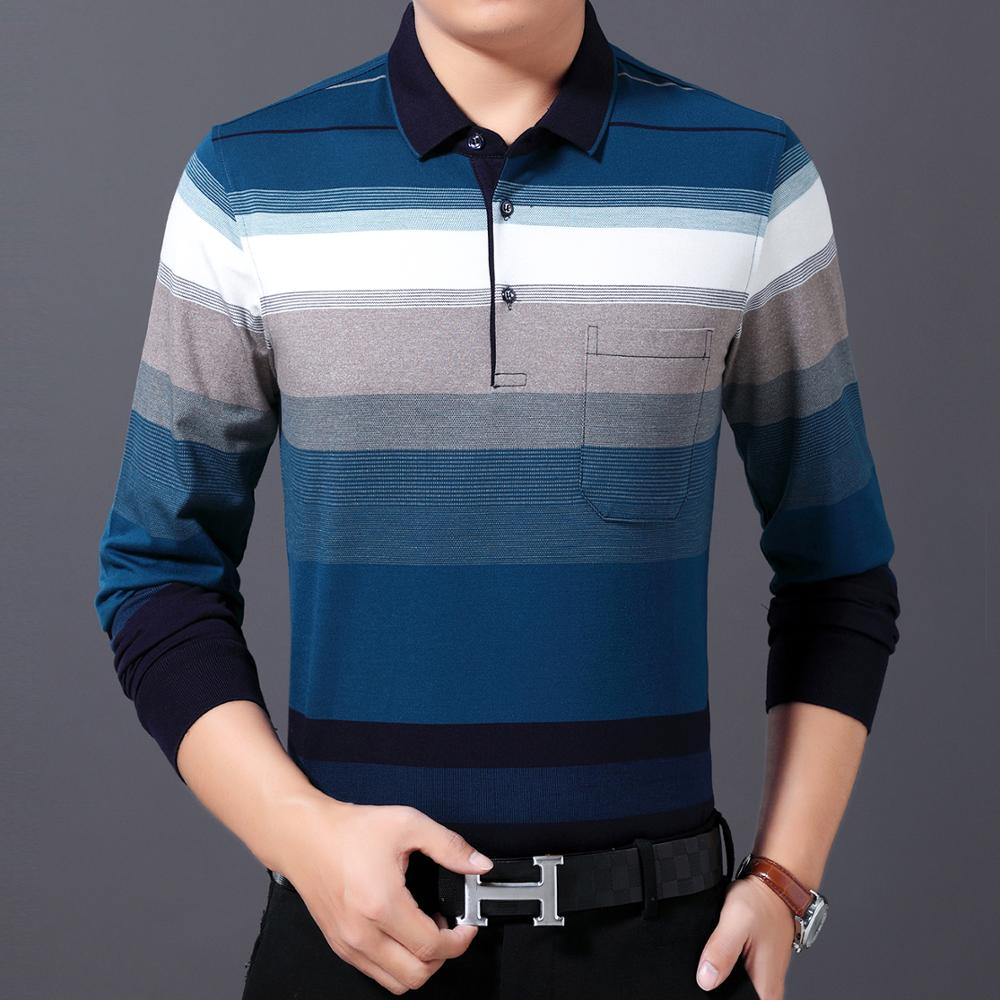 Autumn Spring Man Casual Shirt Red Green Cross Stripe Pattern Tops Male Business Casual Gradient Colour Basic Blouses Men Outfit in Polo from Men 39 s Clothing