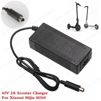 Cargador de batería para Scooter de 42V y 2 a  adaptadores de fuente de alimentación para Xiaomi Mijia M365  accesorios eléctricos para patinete|Cargadores| |  -