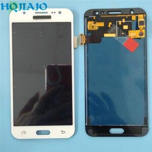Image 3 - 10 sztuk/partia Test LCD do Samsung Galaxy J500 J5 2015 J500Y J500M J500F wyświetlacz LCD ekran dotykowy Digitizer zgromadzenie dostosuj LCD