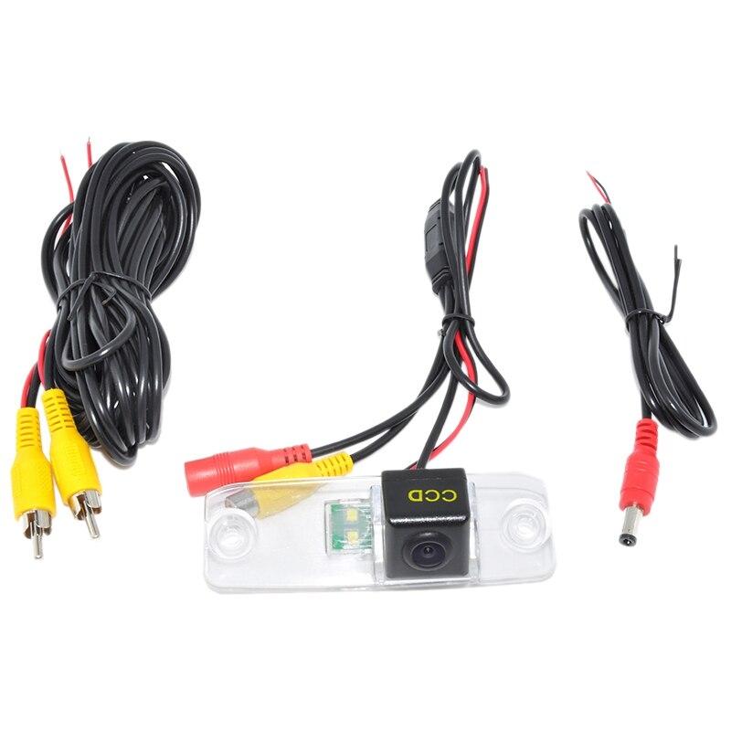 Ccd Auto Videocamera Vista Posteriore per La Retromarcia Reverse per Hyundai Elantra/Sonata Nf/Accent/Tucson/Terracan/Kia Carens /Opirus/Sorento Wf