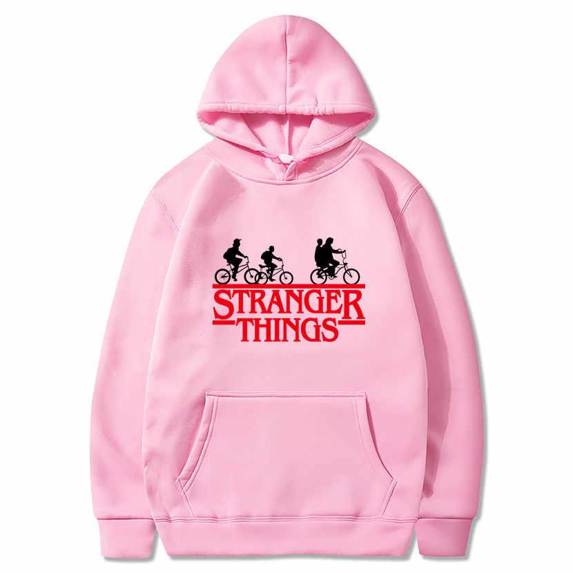 2020 marka yeni moda Stranger şeyler kap giyim kapüşonlu Sweatshirt hoodies erkekler/kadınlar Hip Hop Hoodies artı boyutu Streetwear