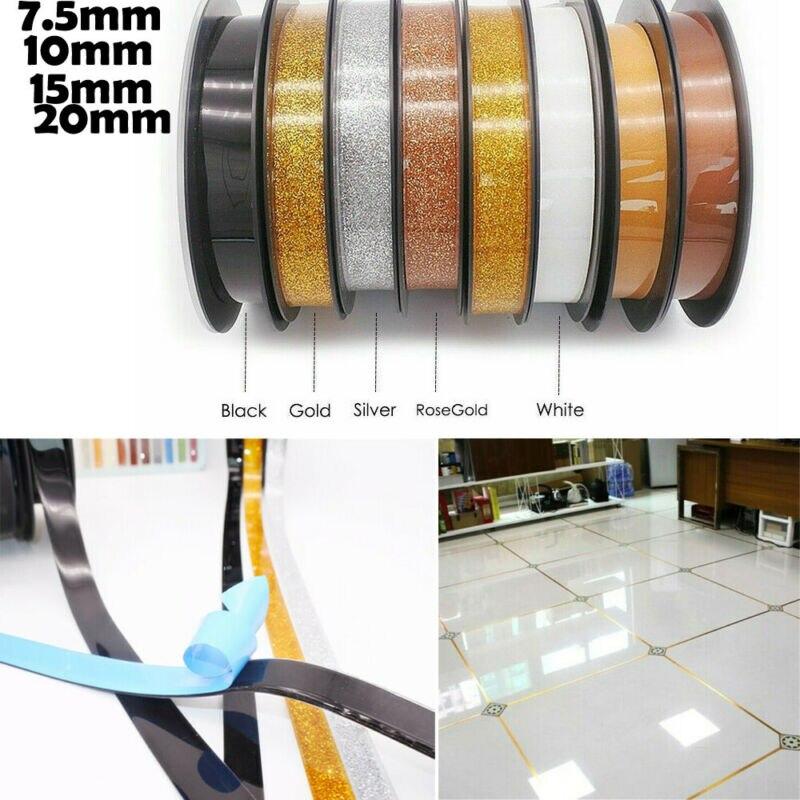 6m Self-adhesive Tile Crevice Tape Decorative Corner Side Edges Strip Stickers