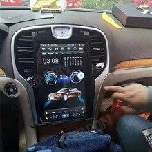 PX6 Vertikale Bildschirm Auto Radio 2 Din GPS Navigation Für Chrysler 300C 2013 2014 2015 2016 2017 2018 2019 Audio multimedia Player