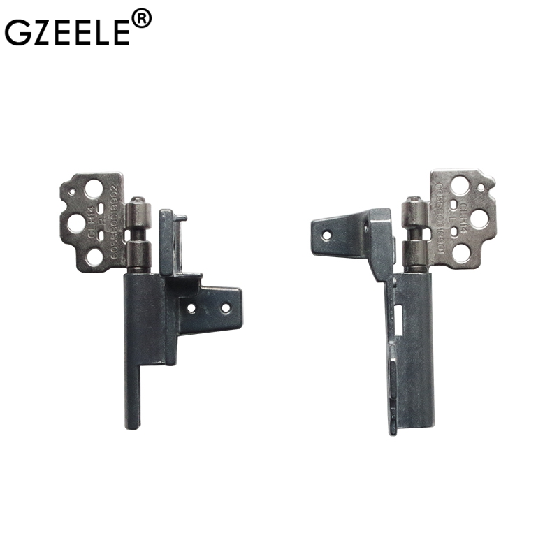 GZEELE New Laptop LCD Screen Hinges For HP EliteBook 8460P 8460 8470 8470P 8470W 6055B0018901 6055B0018902 Laptop LCD Hinges