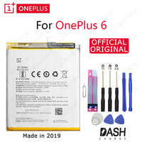 ONE PLUS Original Phone Battery BLP657 3210/3300mAh For OnePlus 6 A6001 High Quality Replacement Li-ion Batteries Free Tools