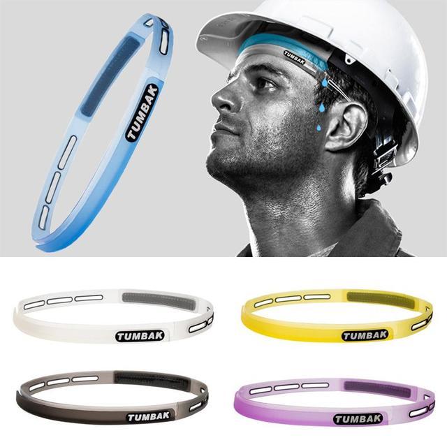 Head Sweatband Sports Sweat Guiding Belt Sports Silicone Unisex Unisex Unisex Headband 5