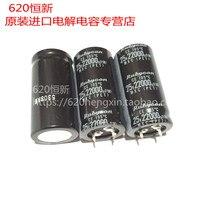 2 pçs novo rubycon mxc 25v22000uf 25x50mm 22000 uf/25 v capacitor eletrolítico mxc 22000 uf 25 v fonte de alimentação|Chips para amplificador operacional| |  -