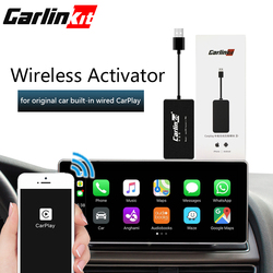 Carlinkit CarPlay activador inalámbrico USB Dongle adecuado Original coche incorporado con cable CarPlay con cable a inalámbrico