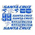 Защитные наклейки для велосипедной рамы Санта Круз аксессуары для велоспорта виниловая Защита от солнца mtb велосипедная Рама Замена Наклей...