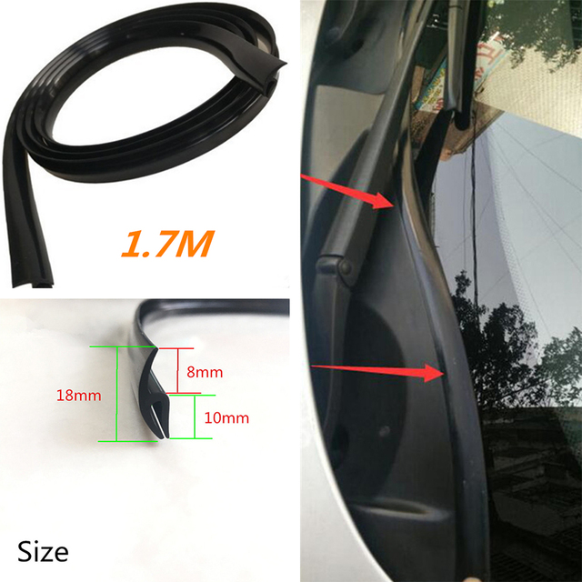 Купить универсальное автомобильное уплотнение 17 м для внутренней отделки