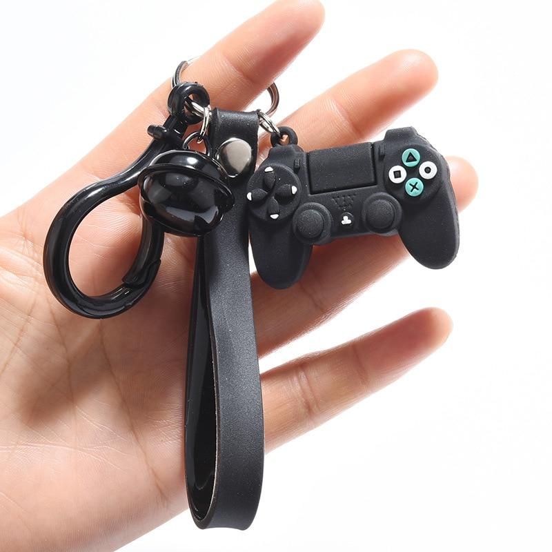 Creative Video Game Handle Keychain Creative Joystick Model Key Chain Key Ring For Boyfriend Men Key Holder Trinket Gift