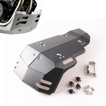 Skid Plate Engine Protector Bash Guard Set For BMW F800GS F700GS F650GS 2008-2013 09 10 11 12 Black