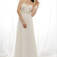 free shipping maxi 2018 vestidos formal new fashion white long plus size bridal gown chiffon Graduat