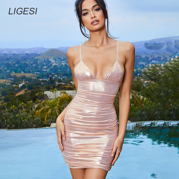 2173_main_island-girl-blush-clear-strap-metallic-ruched-mini-dress