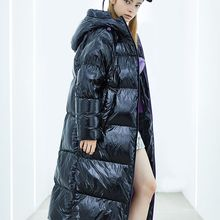 BOSIDENG puff collection women deep winter thicken goose down jacket