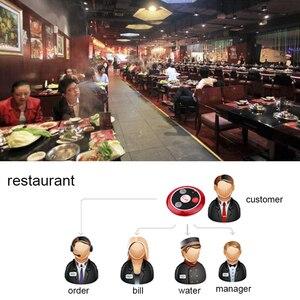 Image 5 - Retekess TD108 Hookah Wireless Pager Restaurant Waiter Call System Watch Receiver+10pcs Call Button Transmitter Bar Cafe Office