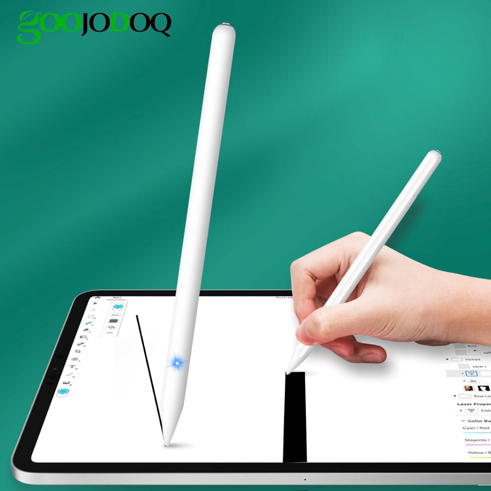 For IPad Pencil With Palm Rejection Tilt Sensitivity,Magnetic Pencil For IPad Pro 11 12.9 2020 Stylus Pen For Apple Pencil 2애플펜슬