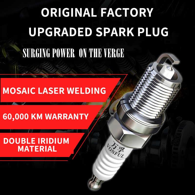1 個/フォードマスタング [2012 から 2014] 5.0L Boss 302 車キャンドルイリジウムプラチナスパークプラグ