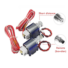 Extruder-Kit Bracket-Block Printer-Parts Filament Nozzle 0.4mm Hotend V6 j-Head Cooling-Fan