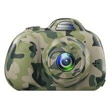 Cute Children Digital Camera Full Hd 1080P Mini Dual Lens Kids 2Inch 8Mp Slr Video Best Gifts For Children(Ca