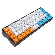Ymd40 v2 diy kit qmk tipo c pcb cnc caso placa para 40% mini bonito teclado mecânico semelhante ao layout planck