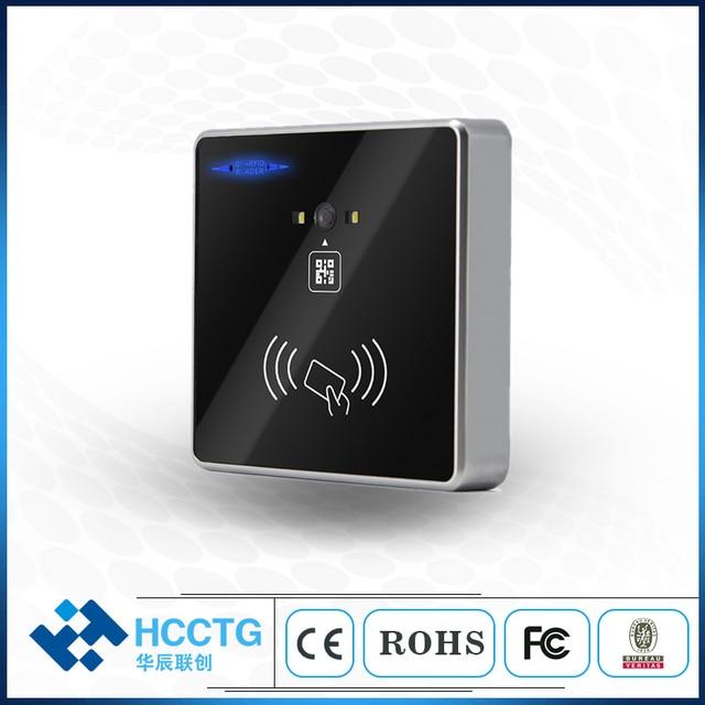 HM30 QR code + RFID access control reader RS232/USB/RS485/TTL Wiegand 2